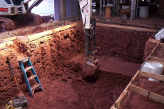 James Sankey & Associates (Sankey Pools) pool dig