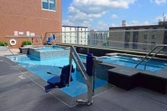 Sankey Pools - The Metropolitan at State College Rooftop Pool
