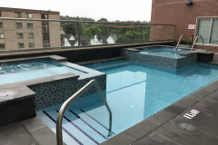 Sankey Pools - The Metropolitan at State College Rooftop Pool Complete