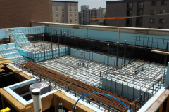 Sankey Pools - The Metropolitan at State College Rooftop Pool Steel