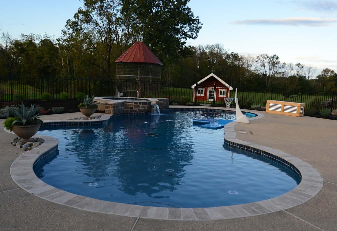 James Sankey & Associates, LLC. (Sankey Pools) Residential Pool