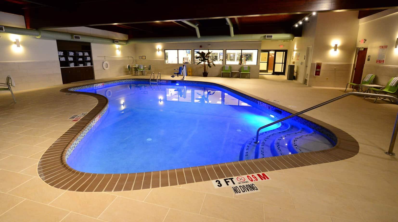 Sankey Pools - FINISHED POOL RENOVATION (Holiday Inn - Williamsport, PA)