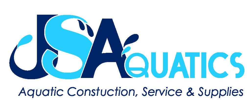 JSAquatics logo w tagline