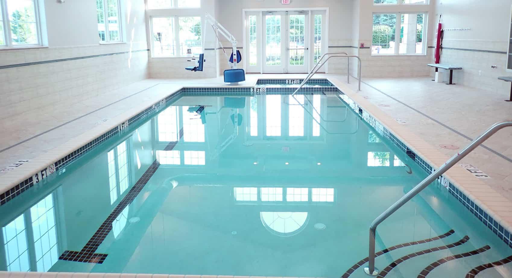 Sankey Pools - Senior Living Pool Project Finished