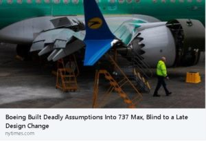 Boeing 737 Max Issues