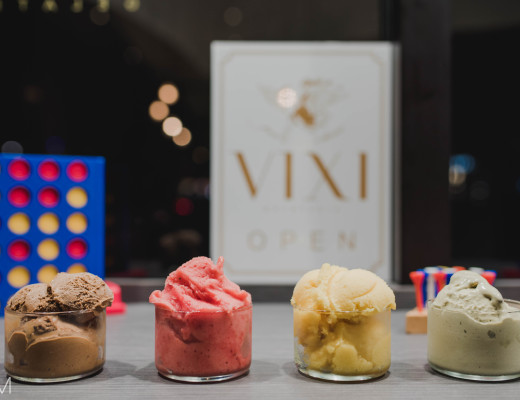 Munch Miami Reviews Vixi Gelateria -- Gluten-free gelato
