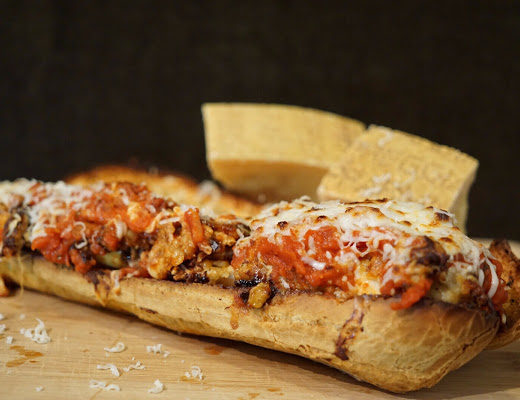 Munch Miami Chicken Parm Sandwich Parmigiano Reggiano Recipe