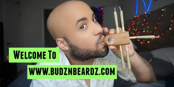 Welcome To Budznbeardz.com // Christening Rarefied Hard Pipes 5 Hitter