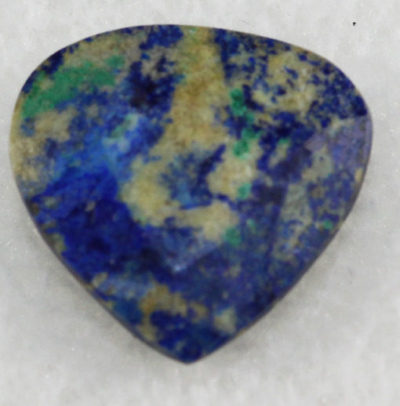 Azurite with Chrysocolla