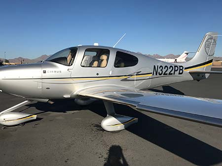 2010 Cirrus SR22T with Perspective N322PB