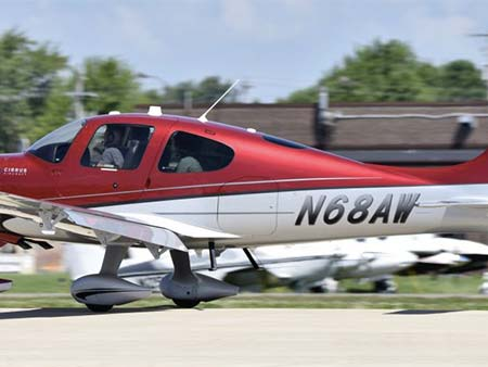 2012 CIRRUS SR22 TURBO WITH PERSPECTIVE N68AW