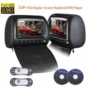 Car Headrest DVD Players
