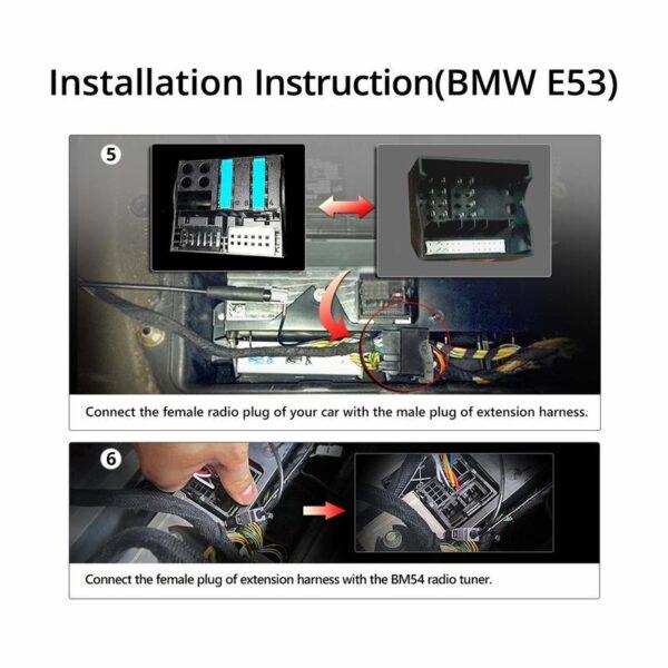 A0582 eonon extension wire harness