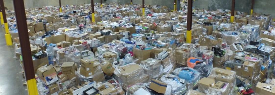 Amazon Customer Return Pallets