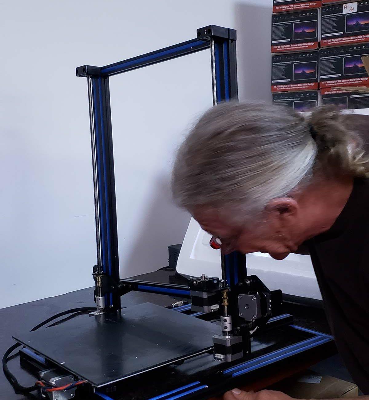 back-track 3d printer repair