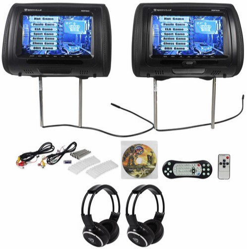 repair rockville RDP931-BK headrest dvd players