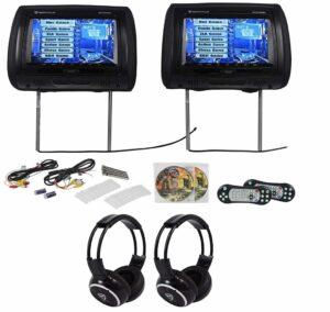 We Repair Rockville RTSVD961-BK Headrest DVD Players