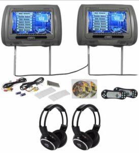 We Repair Rockville RTSVD961-GR Headrest DVD Players