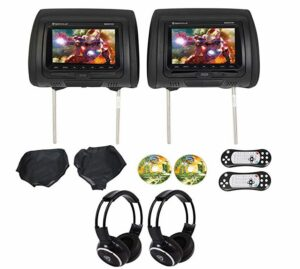 We Repair Rockville RVD721-BK Headrest DVD Players