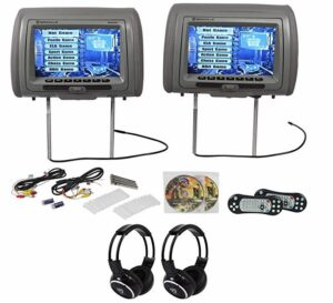 We Repair Rockville RVD951-GR Headrest DVD Players