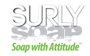 surly soap logo