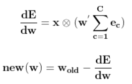 skipgram equation