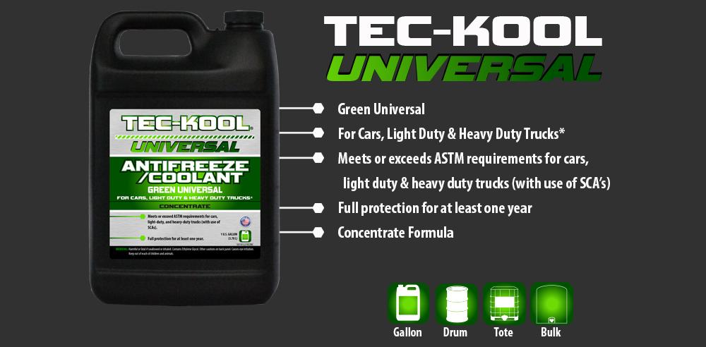 Tec-Kool Universal Green Concentrate