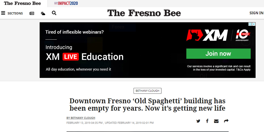 Downtown Fresno 'Old Spaghetti' Building Has Been Empty For Years. Now It's Getting New Life