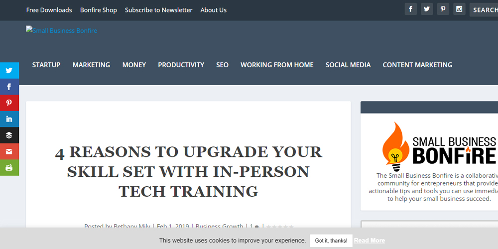 4 Reasons to Upgrade Your Skill Set with In-Person Tech Training