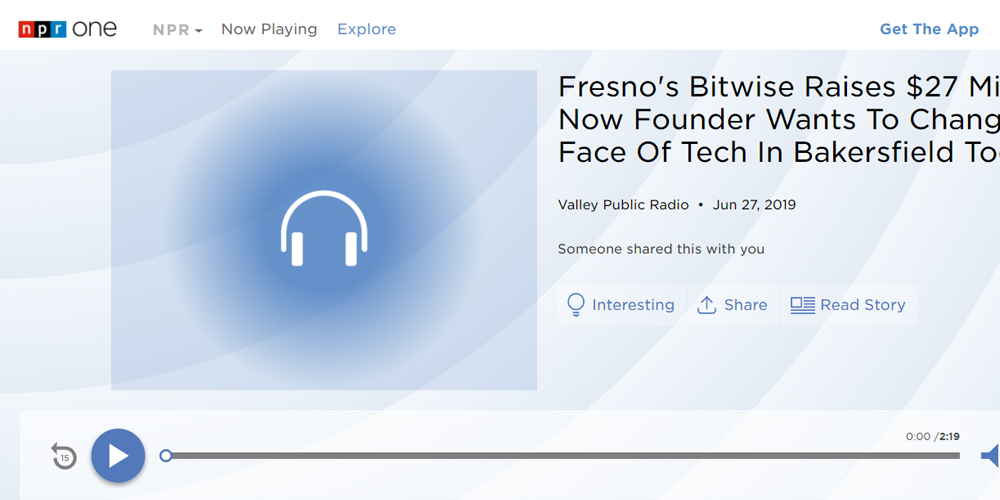 Fresno's Bitwise Raises $27 Million: Now Founder Wants To Change The Face Of Tech In Bakersfield Too