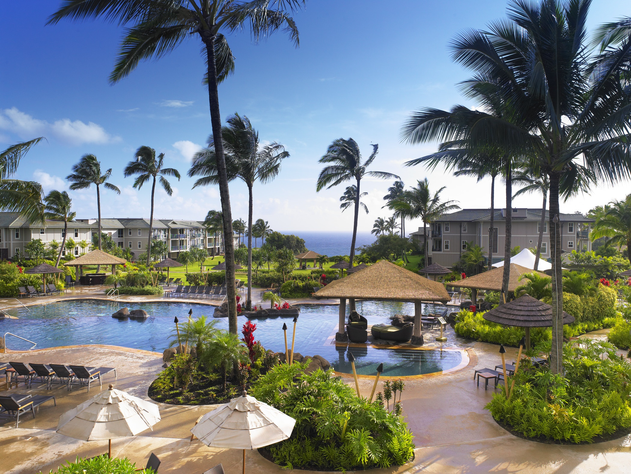 How many ADA villas at Westin Princeville Ocean Resort Villas