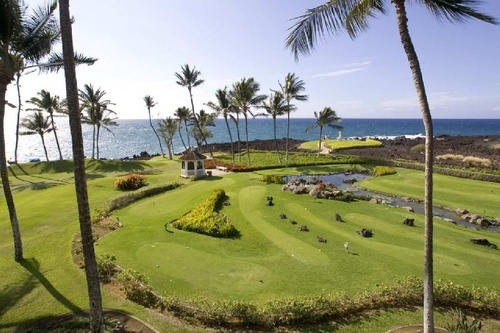 Hilton Grand Vacations Club at Waikoloa Beach Points Chart