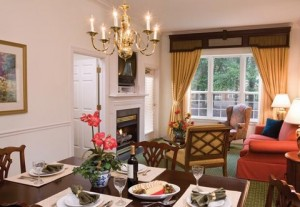 Marriott Manor Club at Ford's Colony Living Area