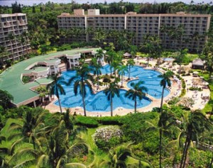 Marriott Kauai Beach Club Aerial View