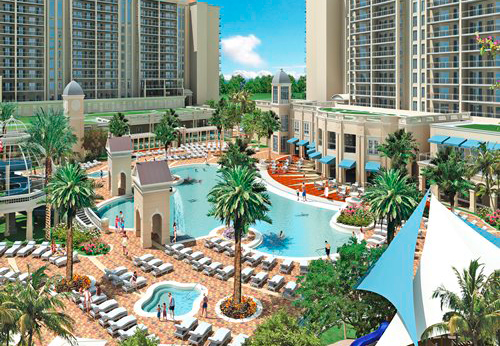 Parc Soleil by Hilton Grand Vacations 2013 Maintenance Fees