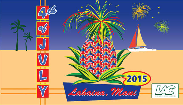 Maui Fireworks & Activities 4th of July 2015