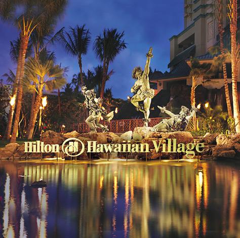 Hilton Grand Vacations Club at Hilton Hawaiian Village Three Towers