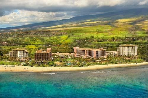 Marriott's Maui Ocean Club, Lahaina and Napili Towers Rewards Chart