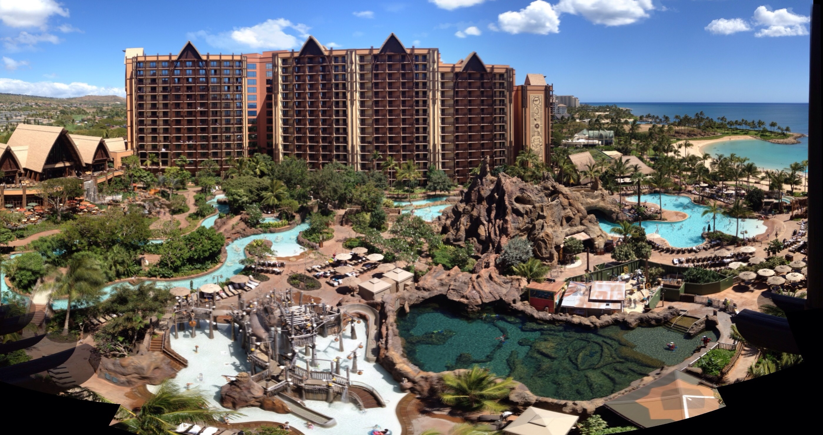 Aulani Disney Vacation Club Villas 2017 and 2018 Points Charts