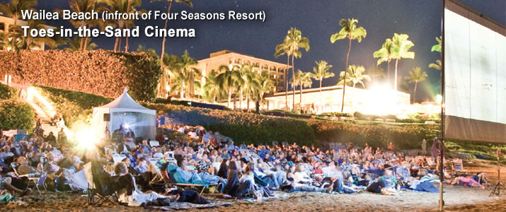 Maui Film Festival Toes in the Sand Cinema 2016