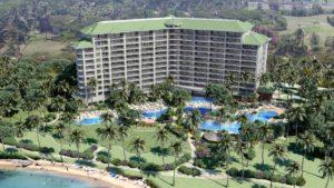 Hyatt Kaanapali Beach Exterior - Maui, Hawaii