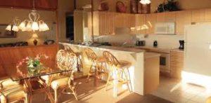 Club Regency Dining/Kitchen area
