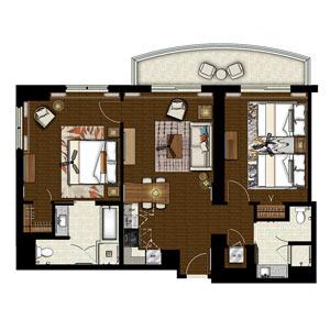 Hilton Grand Islander 2 bedroom