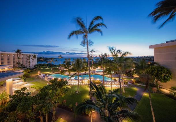 Marriott Waikoloa Ocean Club Golf, Fitness Center and Spa Information