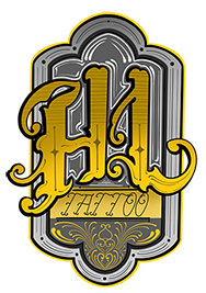 Higher Love Tattoo Logo