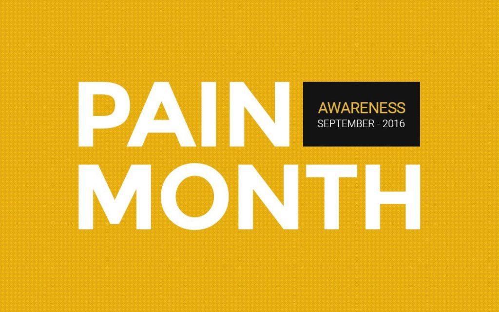 Pain Awareness Month