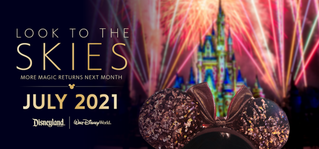 Fireworks Spectaculars Are Back at Disney Parks This Summer