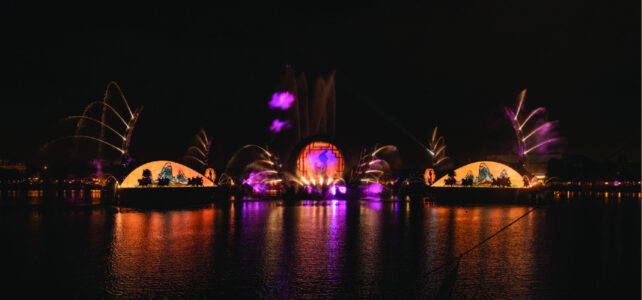 Bringing the Global Music of 'Harmonious' to Spectacular Life on World Showcase Lagoon at EPCOT