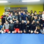 Alan Belcher Trains at Fight and Fitness MMA