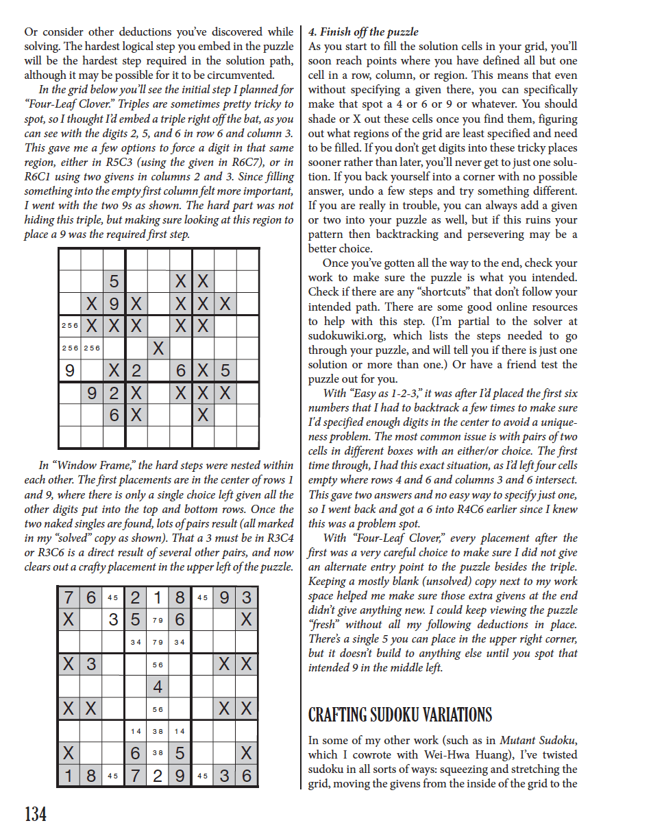 Puzzlecraft Sample 1